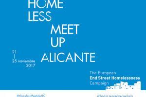 28 de Febrero Presentación Informe Resultados Campaña Homeless Meet Up Alicante