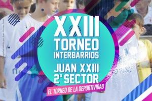 Torneo Interbarrios de fútbol sala de Juan XXIII-2º sector. El torneo de la Deporltividad.