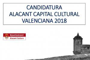 Candidatura Alicante Capital Cultural Valenciana