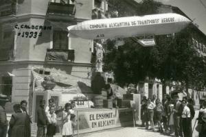 Hoguera Calderón de la Barca 1933