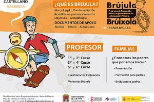 Programa Brújula. Prevención de drogodependencias en educación primaria