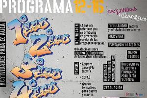 Programa 12-16 de Prevención de las Drogodependencias