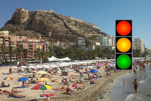 Estado de las playas de Alicante