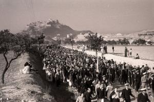 Romería Santa Faz 1944. Foto Sánchez. AMA