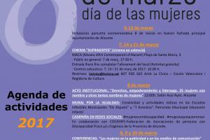 8 de marzo: actividades Concejalía de Igualdad