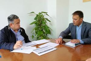 Bellido presenta Plan Ciudad a Pedreño