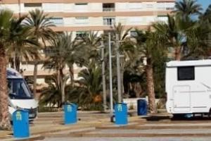 Área de pernocta en tránsito de Alicante