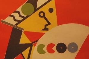 Banner de la expo de CC.OO. en CMA