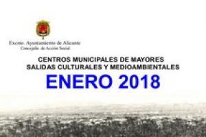 Unidad de centros de mayores. Salidas Medioambientales Enero 2018