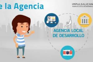 Videoinfografía Agencia Local Desarrollo Alicante