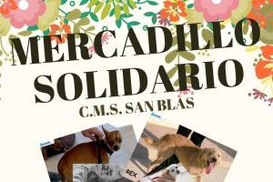 Mercadillo Solidario organizado por C.M.S. San Blas