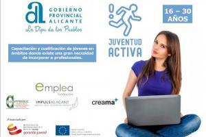 """Programa de """"Juventud Activa"""" en la Provincia de Alicante"""