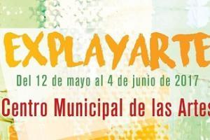 Banner de la exposición Explayarte, del IES Playa San Juan