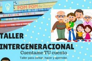 """Taller Intergeneracional """"Explica'm el teu conte"""". Centre Socioeducatiu Rabassa"""