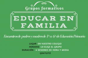 Grupos formativos para padres y madres