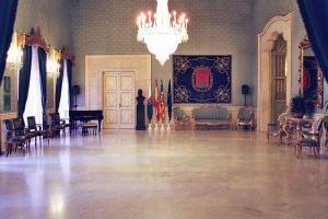 Salón azul del Ayuntamiento de Alicante