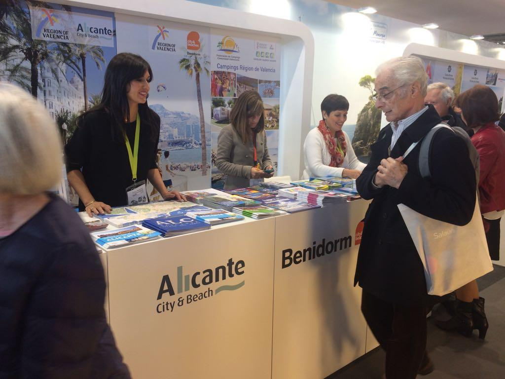 Alicante participa en el sal n mondial du tourisme map - Salon tourisme paris ...