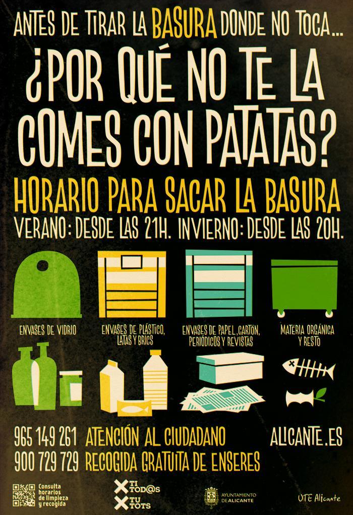 Campaña De Limpieza Viaria Ajuntament Dalacant