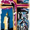 Cartel Semana Santa.1964. Otilio Serrano Pérez
