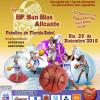 Mañana prosiguen los partidos de baloncesto en ambos polideportivos
