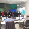 Visita de alumnos de FEMPA al Centro de Control de Tráfico