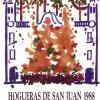 Cartel Hogueras de San Juan año 1988