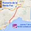 Información Tráfico y Transportes Santa Faz 2016