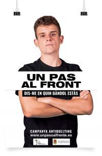 Campanya 'Un pas al front' contra el bullying