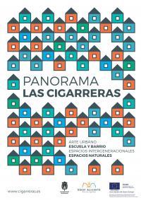 """El programa """"Panorama Las Cigarreras"""" busca crear una red social y activa para la realización de actividades en espacios abiertos o en desuso"""