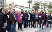 El alcalde Luis Barcala mostró su solidaridad con los afectados