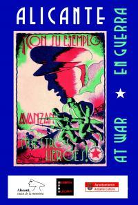 Cartel de la exposición Alicante en guerra