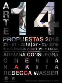 Arte propuestas 2018