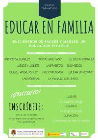 Educar en familia. Educación infantil