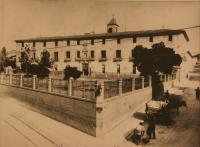 Imagen de archivo de la fachada de la antigua Fábrica de Tabacos