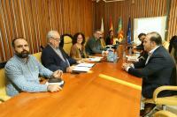 Reunión de la Comisión de protección del Caserío y del entorno de Santa Faz