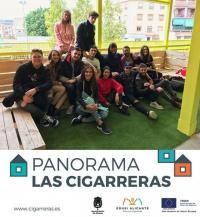 Taller EDUSI - Las Cigarreras. Taller Mobiliario con materiales reciclados