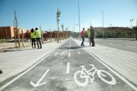 Así ha quedado la avenida Isla de Corfú tras su reurbanización