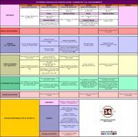 Agenda semana del 10 al 15 de diciembre