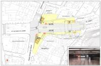 Plano de situación de la Estación TRAM Mercado