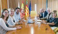 ARA se presentó ante el alcalde y las concejalas de Comercio-Hostelería y de Turismo en el mes de septiembre