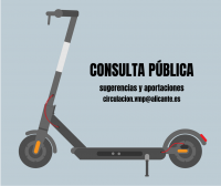 Consulta pública Regulación Vehículos de Movilidad Personal (VMP)
