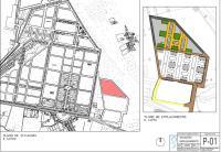 Plano de la ampliación del cementerio