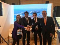 """Presentación en Fitur del evento """"Alicante Costa Blanca Cruise Forum"""""""