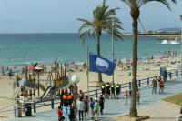 Imagen de la playa del Postiguet