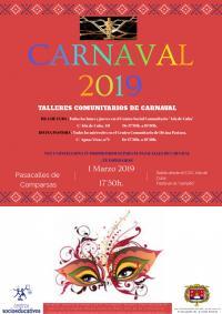 El Ayuntamiento celebra el Carnaval en los barrios con un colorido programa de actividades