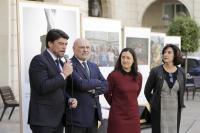 El alcalde Luis Barcala, el decano de los abogados, Fernando Candela, la presidenta de las Mujeres Abogadas, Elena Reig, y la responsable de Igualdad del colegio, Catalina Alcázar