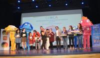 Un momento de la gala de entrega de premios promovida por el centro municipal CERCA