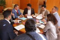 El alcalde se reunió con representantes de las principales asociaciones gitanas de la ciudad.