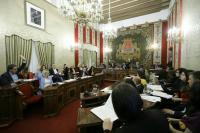 Votación en el Pleno de los Presupuestos 2019