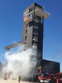 Los bomberos celebraron el día de su patrón